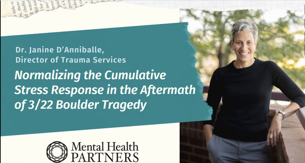 Learning to deal with the aftermath of trauma